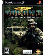 Playstation 2 - SOCOM 3 U.S. NAVY SEALS (Complete with Instructions) - $8.95