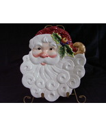 Fitz Floyd Essentials Santa Serving Cookie Plate - $34.00