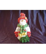 Collectible Christmas Resin Snowman Statue  - $31.00