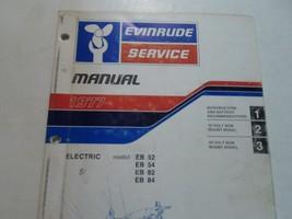 1977 Evinrude Service Shop Repair Manual Electric EB 52 54 82 84 OEM Boat WORN image 2