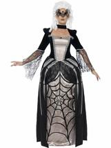 Black Widow Baroness Costume, UK 12-14, Halloween Fancy Dress - $42.73