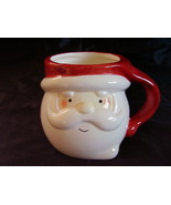 Christmas Santa Chocolate Mug Cup Collectible B - $16.00
