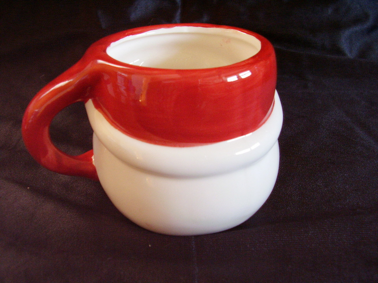 Christmas Santa Chocolate Mug Cup Collectible B