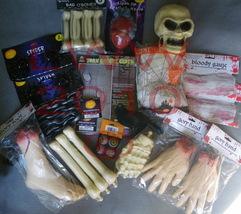 Halloween Gory Body Part Spider Web 31 Piece Prop Set - $46.99