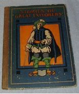 Stories of Great Explorers 1924 Whitman John Jones - $6.95