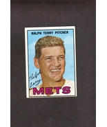 1967 Topps # 59 Ralph Terry New York Mets - $1.00