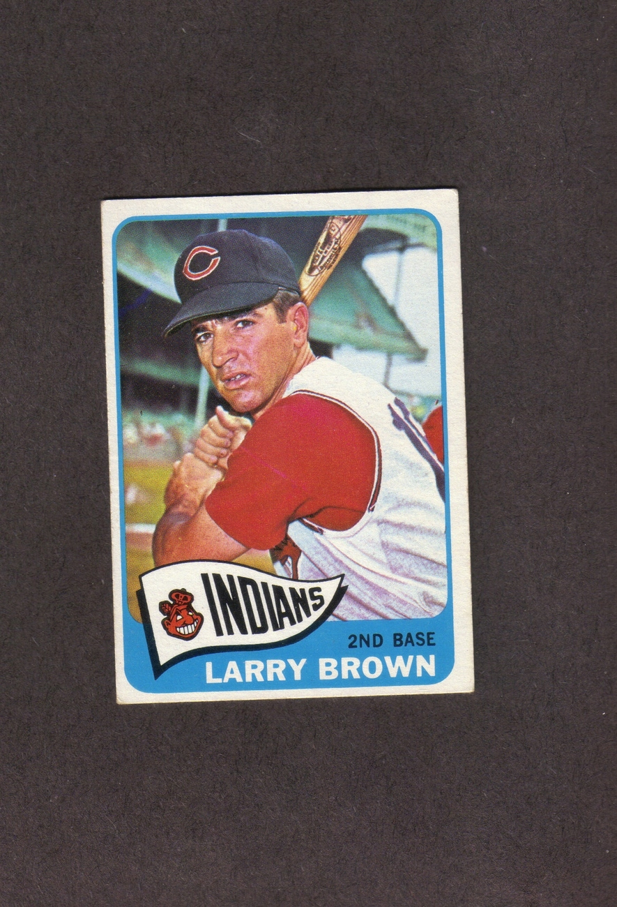 1965 Topps # 468 Larry Brown Cleveland Indians