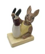 Royal Doulton England BUNNYKINS Porcelain Figurine Aerobics Bunnykins DB 40 - $23.24