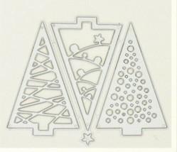 Set of 3 Tree Dies - Card Making - Scrapbooking - Mini Albums