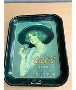 """Vintage Drink Coca Cola Refreshing & Delicious Serving Tray - 13.5"""" x 10... - $7.92"""