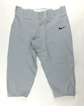 Nike Team 3/4 Softball Game Practice Pant Women's Medium Gray CD8185-052 - $21.37