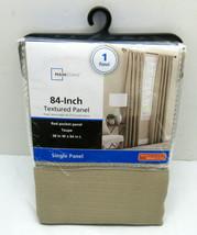 Mainstays Textured Panel Taupe 38'' x 84'' Rod Pocket Panel (1 Panel) - $7.99