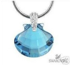 "AUTHENTIC SIGNED SWAROVSKI SCS WONDERS OF THE SEA ""ETERNITY"" NECKLACE 85... - $149.00"