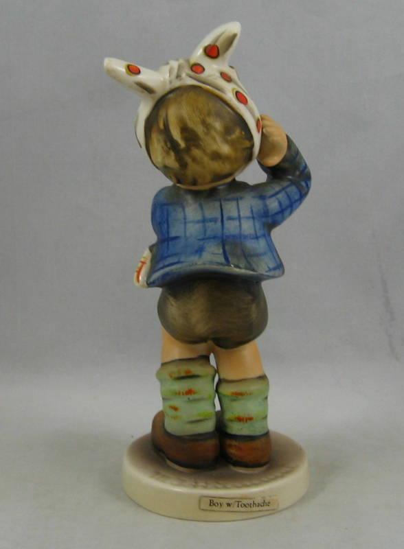 "Hummel Figurine ""BOY WITH TOOTHACHE"" Hum 217 TM 4"