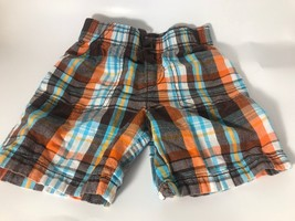 Jumping Beans 3T Plaid Shorts Toddler Boy Clothes Summer Cotton - $5.54