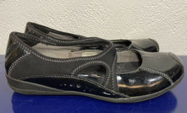 """MERRELL """"Plie"""" Shoes Flats Back Patent Leather Women's Mary Jane Style Size 6 - $27.55"""
