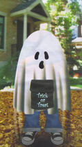 3-Ft. Stuff a Ghost Leaf Bag Halloween Home Inddors Outdoor Decoration - €3,23 EUR