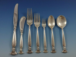 Romance of the Sea by Wallace Sterling Silver Flatware Set Service 88 Pieces - $5,995.00