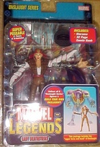 LADY DEATHSTRIKE  ToyBiz Year 2006 Marvel Legends Onslaught  - $18.50