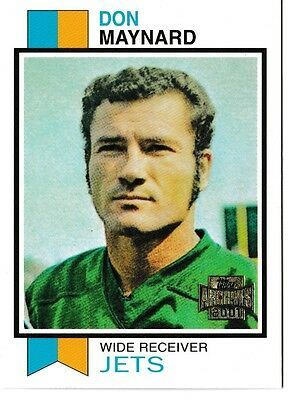 Primary image for 2001 Topps Archives Don Maynard Football Trading Card #93 New York Jets
