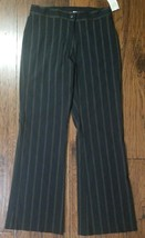 Nwts! Women's EP Pro Stretch Golf Pants Size 10 Black Striped (Inventory... - $24.74
