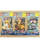 NEW Pokemon TCG XY:Evolutions Booster Packs Sealed - 3 Boosters - $14.99