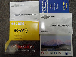 2010 Chevrolet CHEVY MALIBU Owners Manual Set FACTORY FEO BOOKS GOOD CON... - $64.35