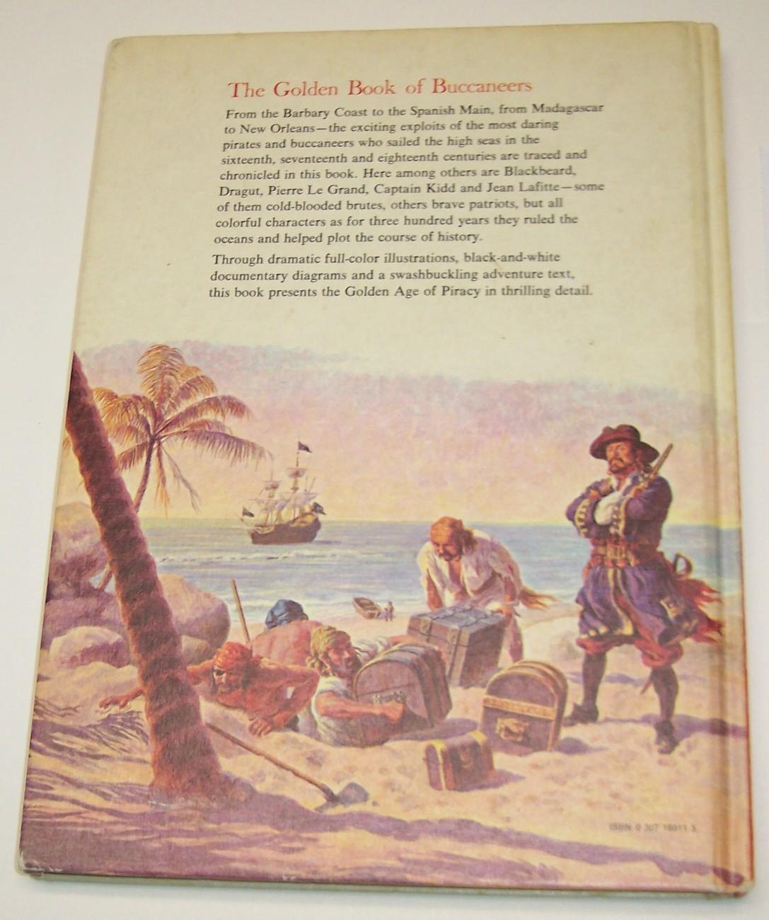 Golden Book of Buccaneers1976 1st Am Ed Gilbert