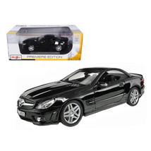 2010 2011 Mercedes SL65 SL 65 Coupe AMG Black 1/18 Diecast Model Car by ... - $51.01