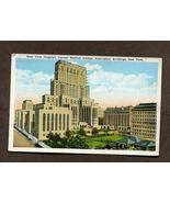 Vintage Postcard 1934 New York Hospital Cornell Medical College 1930s - $4.59