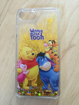 Disney Winnie The Pooh And Friends Liquid Glitter Quicksand Case For iPhone 6/6s - $13.99