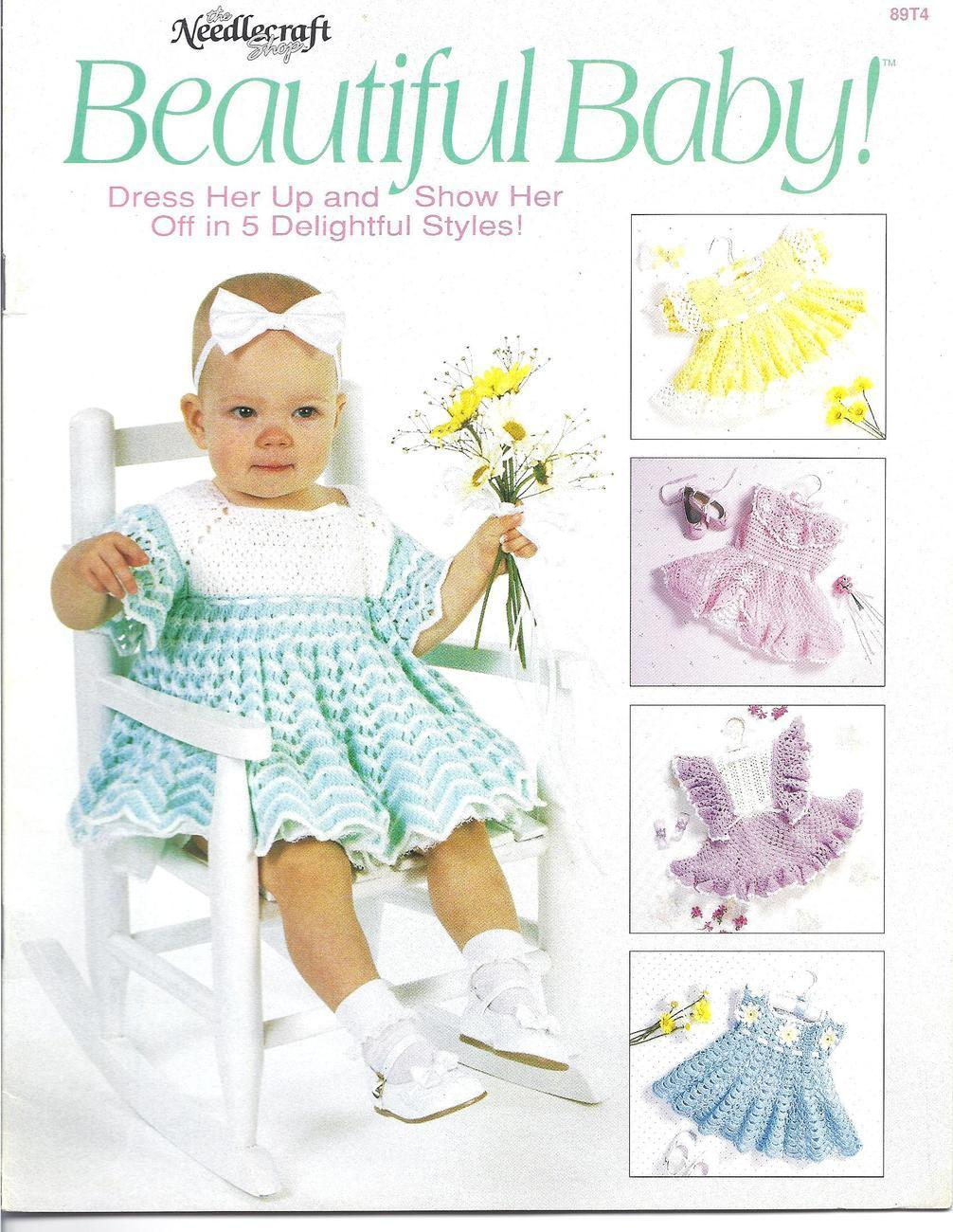 Beautiful Baby Dresses! Crochet Pattern~OOP~RARE~HTF - $42.99