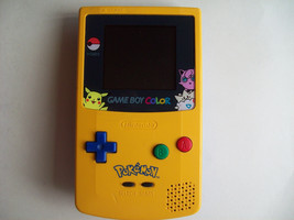 GameBoy Color Pokemon Edition Handheld System NEW SCREEN and SPEAKER  - $51.96