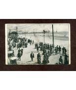 Vintage Postcard 1900s 1909 Youngs Pier Atlantic City NJ New Jersey Boar... - $6.99