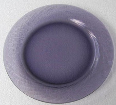 "Forte Crisa Purple Color Collectible Large 11"" Dinner Plate Swirl Design... - $12.99"
