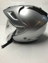 Returned/Used AFX FX-50 Adult Helmet Silver Size Small Minor Defects on Shell - $89.95
