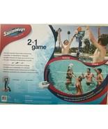 SwimWays - 6042387 - 2-In-1 Volleyball Basketball Swimming Pool Water Ga... - $168.25