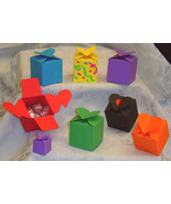 12 Heart Top Favor Bag Box Wedding Bridal Shower Birthday - $4.49