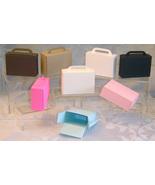 12 Suitcase Favor Bag Box Destination Wedding, Retirement Party, Bon Voyage - $4.89