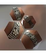 Silver and Crystal Wedding Bracelets, Bridal Bracelet, Wedding Accessori... - $15.00