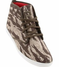 Reebok Men's The Berlín Chukka Marrón Tigre Camuflaje Hi Top Zapatillas 10.5 11 image 1