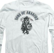 Sons of Anarchy Crime TV series long sleeve graphic t-shirt SOA103 image 3