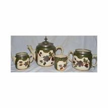 Antique Taylor & Tunnicliffe Tea Set – 4 Pieces - $148.49