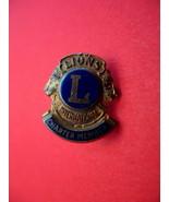 Lions International Club Charter Member Souvenir Lapel Pin - $6.99