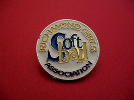 Richmond Girls Softball Association Souvenir Lapel Hat Pin - $5.99