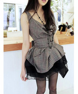 Fashionista Glam. Summer Plaids Top With Black ... - $89.90
