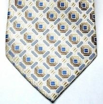 PLATINUM DESIGNS Mens Classic Tie Necktie 100% Silk Hand Made Geometric ... - $14.80