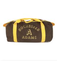 Vintage 70s Rockabilly Rochester Adams MI Spell Out Handled Duffle Bag B... - $31.14