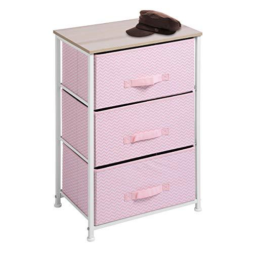 Aingoo Dresser Storage 3 Drawer Closet Organizer for Clothes Bedroom Entryway Ta