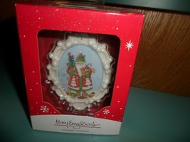 2014 American Greetings Mary Engelbreit Heirloom Collection Santa Ornament - NEW - $7.81